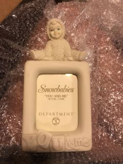 Snowbabies You and Me picture frame