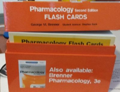 $15 OBO Pharmacology FlashCards