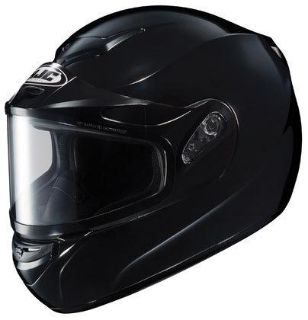 Sell HJC CS-R2 XL Black Dual Lens Snowmobile Snow Sled CSR2 Helmet Extra-Large XLG motorcycle in Ashton, Illinois, US, for US $98.99