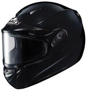 Sell HJC CS-R2 XL Black Dual Lens Snowmobile Snow Sled CSR2 Helmet Extra-Large XLG motorcycle in Ashton, Illinois, US, for US $98.99