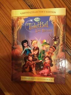 Disney Tinker Bell and the Lost Treasure read-aloud Storybook Large hardcover