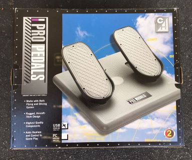 CH Products Pro Pedals USB Flight Simulator Pedals ( 300-111 ) BRAND NEW IN THE BOX