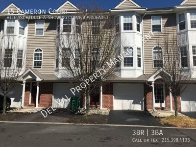 3-Bedroom 3-Story Townhome for Rent - 15 Cameron Court - Available Now!
