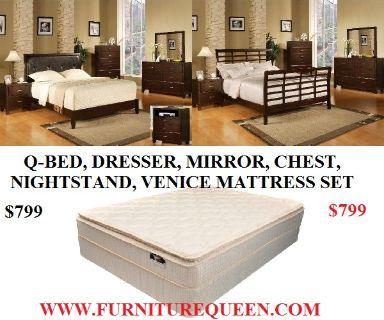$799, New Q Bedroom  Mattress Combos