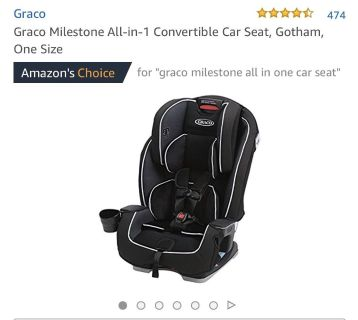 Graco All in 1 Car Seat