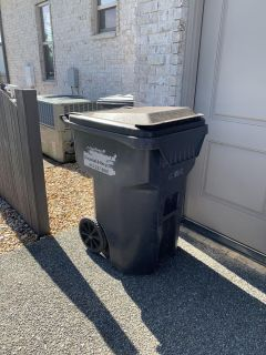 Large trash can