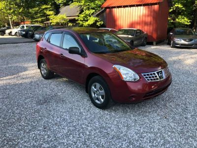 2009 Nissan Rogue S (Red)