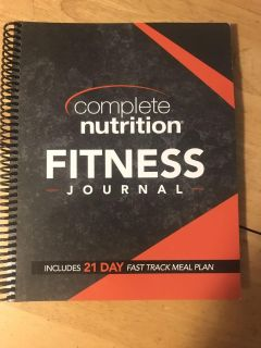 Complete Nutrition Fitness Journal