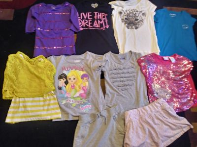 Girls Lot of 10 Size 7-8