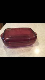 Tupperware Cranberry Acrylic microwave cooker