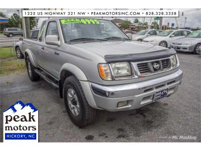 1999 Nissan Frontier XE-V6 (Silver)