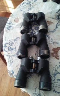 MILITARY WW II US NAVY BINOCULARS