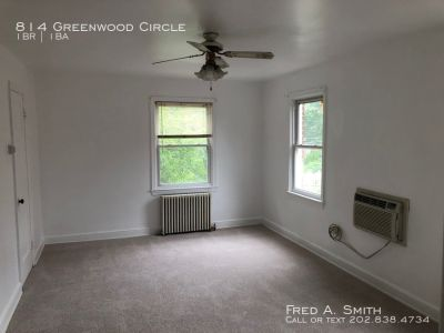 One Bedroom Apartment Available Now in Takoma Park