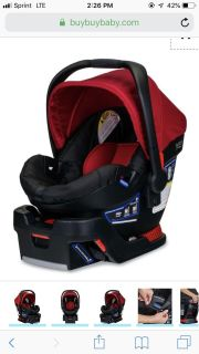 BRITAX CAR SEAT & BASE $40 TODAY ONLY