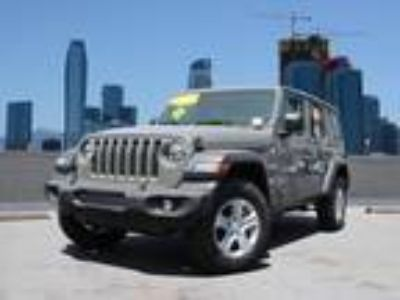 Used 2019 Jeep Wrangler Unlimited Sting-Gray Clearcoat, 120 miles