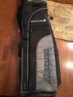 Mizuno Scratch sac lightweight golf carry bag,EXCELLENT USED CONDITION