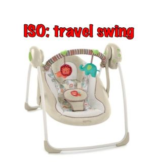 Looking for travel/space saver swing