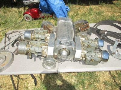 Latham 1957 Ford Thunderbird 312 Y-block Supercharger Blower