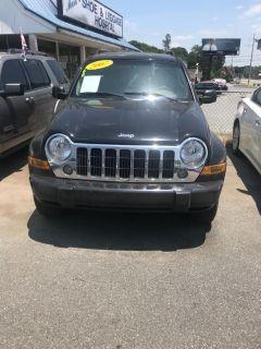 2007 Jeep Liberty Limited (Black)