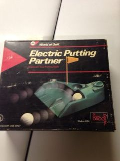 Electric putting partner