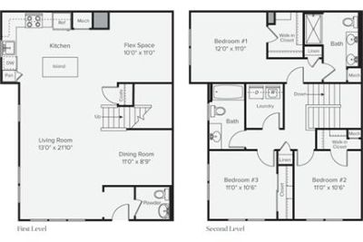 3 bedrooms Apartment - When you find a to live as unique as Prynne Hills.