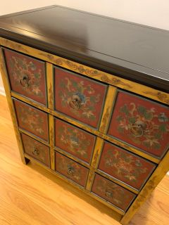 3 small chest drawers