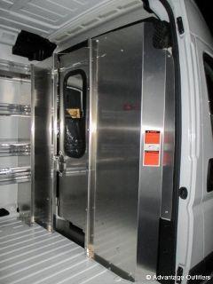Van Shelving and Interiors | Ladder Rack for Vans