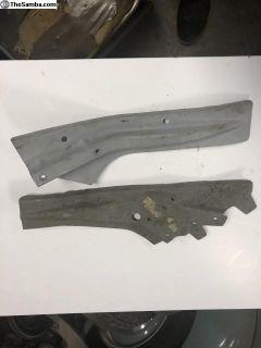Beetle Rear Bumper Repair Plates New