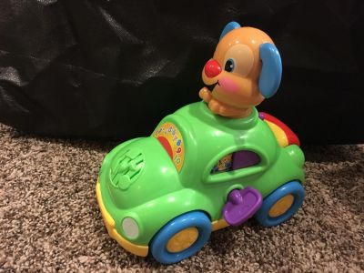 Laugh and Learn Puppy Car