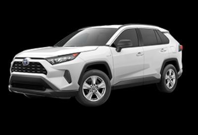2019 Toyota RAV4 Hybrid LE (Super White)