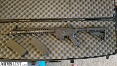 For Sale/Trade: AR15 with anderson lower and palmeto upper and lower build kit