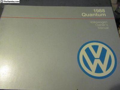 OwnersManualQuantum1988:NOS