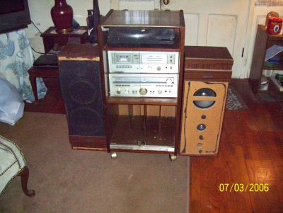 this is a cabinet stereo