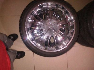22 INCH RIMS AND TIRES MUST GO ASAP