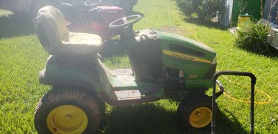 JOHN DEERE 155C RIDING LAWNMOWER
