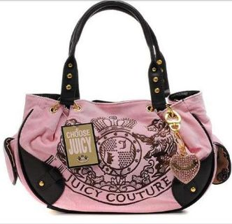Femmes Juicy Couture Handbag.  Superb Gucci Shoulder Bag, Prada Courier Bag, Burberry Satchel Bag, M