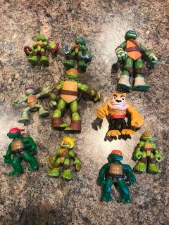 Ninja Turtles 10 Figures