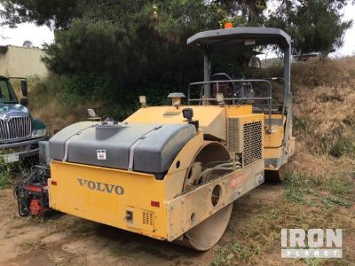 2011 (unverified) Volvo Vibratory Double Drum Roller