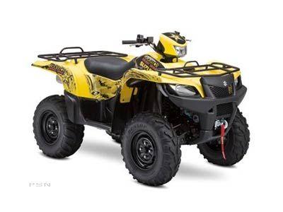 2009 Suzuki KingQuad 750AXi Rockstar Edition Utility ATVs Mahwah, NJ