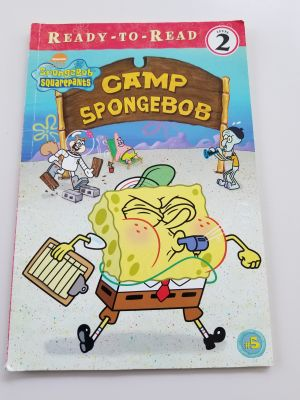 Ready to Read book, Level 2, Camp SpongeBob