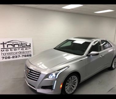 2017 Cadillac CTS Luxury (Silver Or Aluminum)
