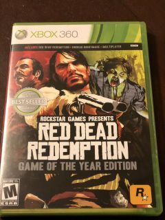 Xbox 360 Red Dead Redemption Game Of The Year Edition