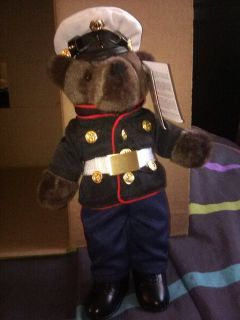 Dress blue bear
