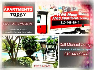 $610, $299 TOTAL MOVE-IN SPECIAL  Accepts Broken Leases  San Pedro410