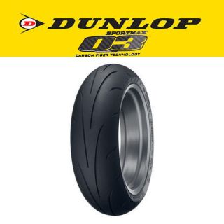 Sell New Dunlop Q3 Sportmax 180/55 ZR17 Rear Tire motorcycle in Ashton, Illinois, US, for US $165.99