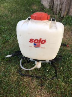 Solo back pack sprayer