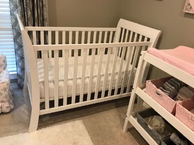 Baby Bed and Mattress, Changing Table