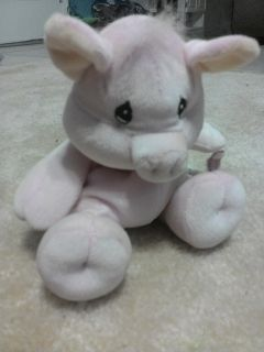 Precious moments tender tails stuffed pig