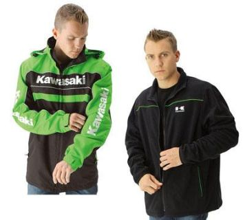 Buy New Mens Kawasaki 3-in-1 Waterproof and Zip Out Black Fleece Jacket 4X XXXXL motorcycle in Chaplin, Connecticut, US, for US $214.95