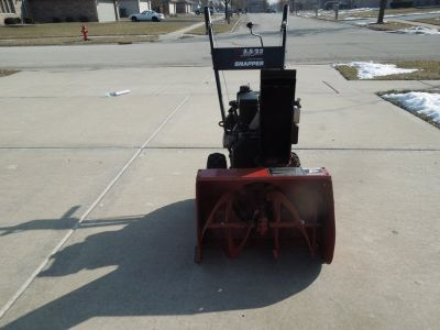 "Snapper Snow Blower 5.5HP 22"" Clearing Path"